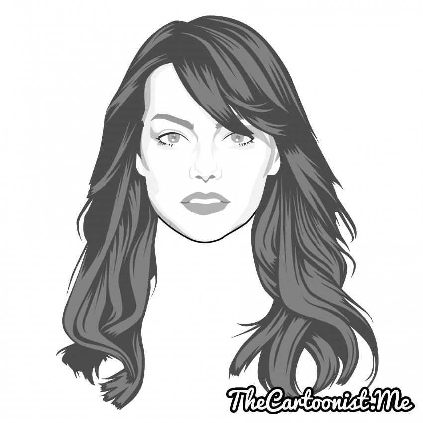 Emma Stone par TheCartoonist